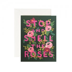 [Rifle Paper Co.] Stop And Smell The Roses Cards