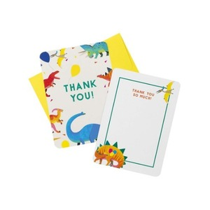 [Talking Tables] Dino Party Thank You Card(8pcs)