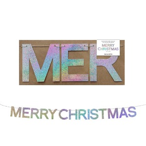 Holographic garlands_Merry Christmas(2.5M)