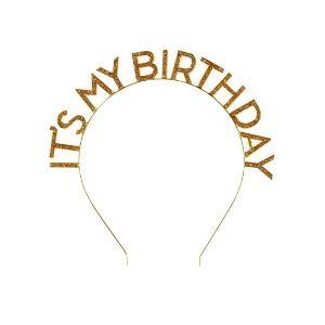 [Talking Tables] Birthday Headband_Gold