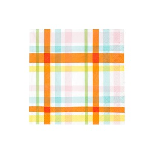 [Talking Tables] Rainbow Check Napkins(20pcs)