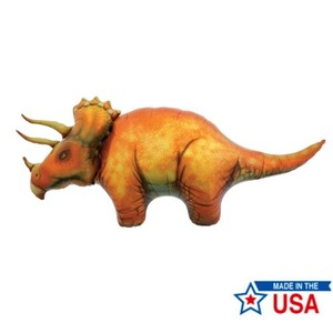 "[Northstar balloons] Triceratops 50""(107x48cm)"